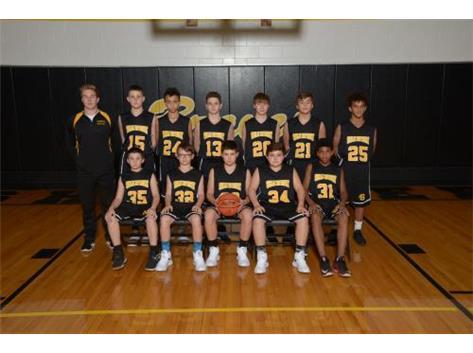 7th Boys Basketball 2017-18