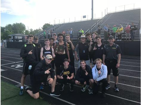 Boys District Track Champs!