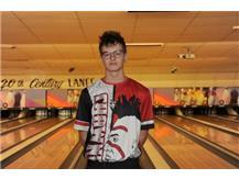 Boys Bowling Senior - Nate Stratton