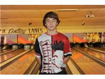 Boys Bowling Senior - Jeff Geise