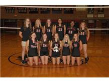 Freshmen Volleyball Team