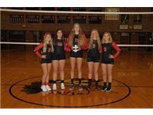 Varsity Volleyball Seniors