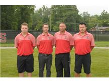 Boys Soccer Coaches: Garrett Gross, Ryan Quatman, Pete LaGrande, Jason Hoehn