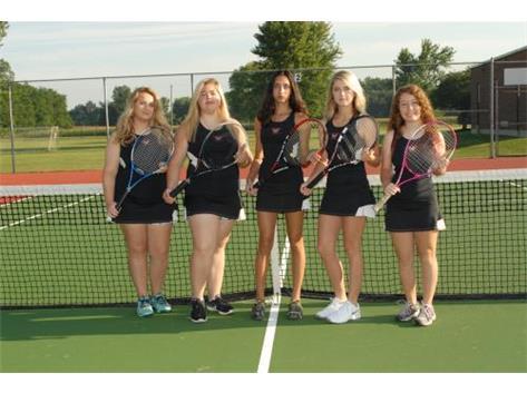 Girls Tennis Seniors