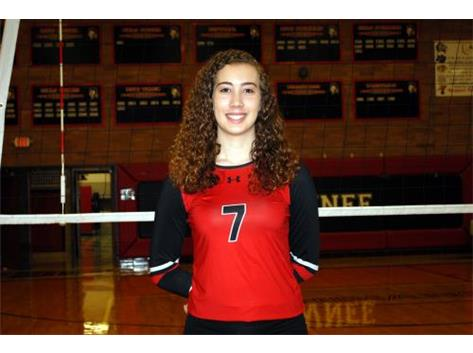 Senior Volleyball Player: Hailey Manuel