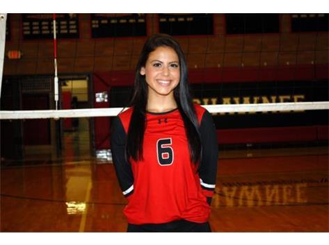 Senior Volleyball Player: Emily Allen