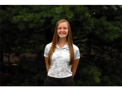 Girls Golf Senior: Megan Spainhower
