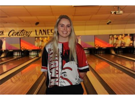 Girls Bowling Senior - Allie Meeker