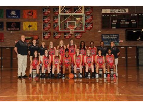Var Girls Basketball Team