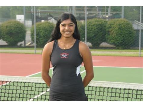 Girls Tennis Senior: Sanjana Rajasekaran