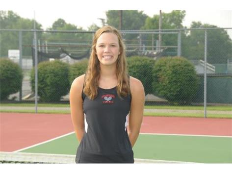 Girls Tennis Senior: Grace Zickafoose