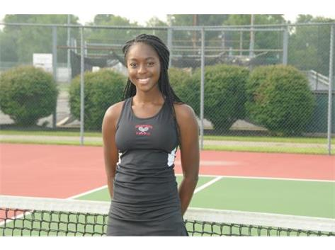 Girls Tennis Senior: Dele Ojo