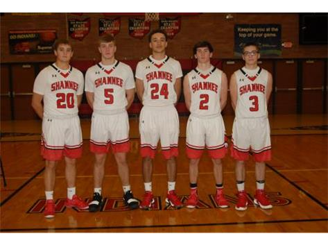 Senior Basketball Players