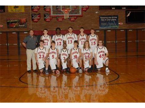 Freshmen Boys Basketball Team