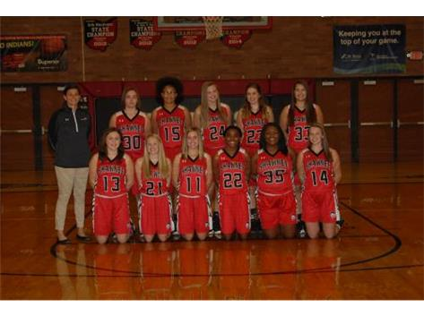 JV Girls Basketball Team
