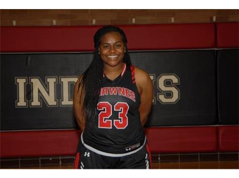 Senior Girls Basketball Player: Kerri Roberson
