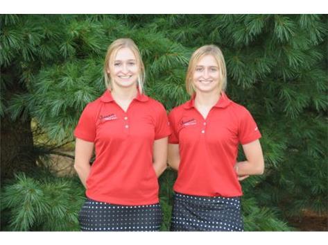 Girls Golf Seniors - Mackenzie & Madison Peterman