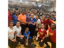 '18-'19 Competive Dance Team placing 3rd in the Hip Hop category held at Eisenhower High School '18 Invitational.