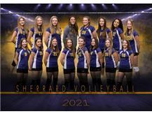7th Grade Girls Volleyball 2020-21