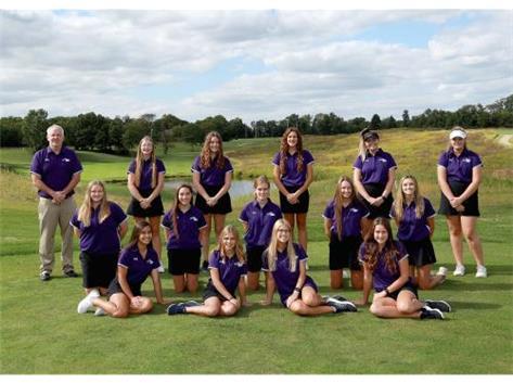 Girls Golf 2020-21