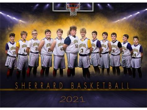 7th Grade Boys Basketball 2020-21