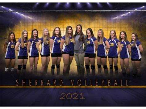 8th Grade Girls Volleyball 2020-21