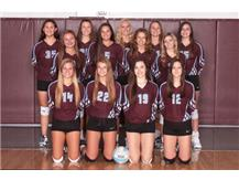 2018 JV Girls Volleyball Team