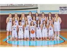 2018 JV Girls Basketball Team