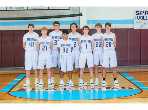 2018 JV Boys Basketball Team