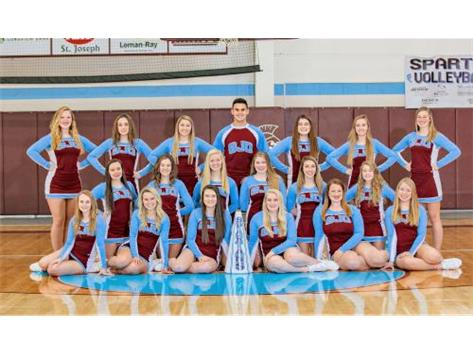 2018 Winter Cheer Team