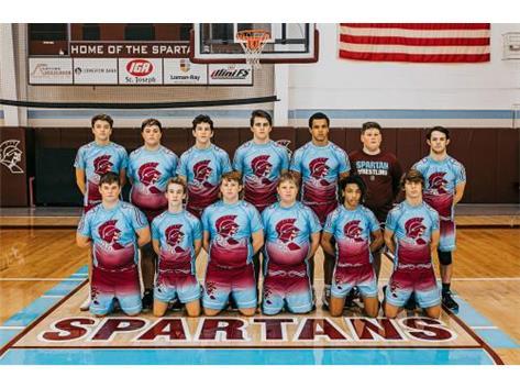 2019-2020 Varsity Wrestling Team