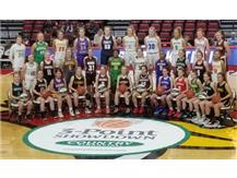 IHSA 3PT CONTEST - TEAM PICTURE Vanessa Casimiro & Emma Lotus