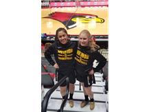 IHSA 3PT CONTEST STATE QUALIFIERS Vanessa Casimiro & Emma Lotus