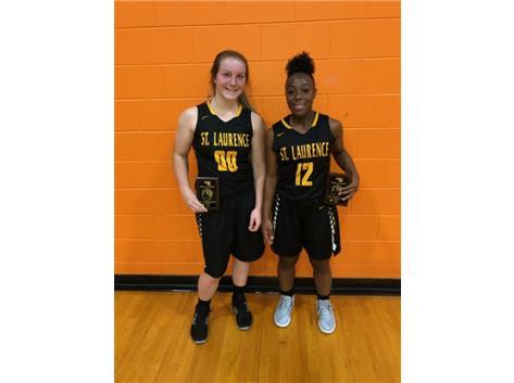Beecher Fall All-Tournament Abbey Pochie & Lourdes Andrews