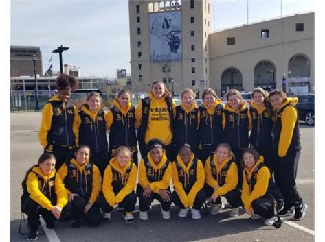 Team trip to Northwestern vs Duke Women's Basketball game