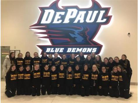 Vikings Girls' Basketball trip to the Wintrust Arena for DePaul vs UCONN