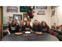 Ella Carpenter signs with Edgewood College to play volleyball.