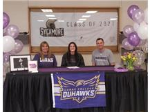 Aliska Flatter signed with Loras College for Track and Field.