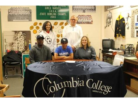 Jordan signed with Columbia College, Missouri for Baseball.