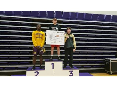 Trevor Boryla - Regionals 3rd Place