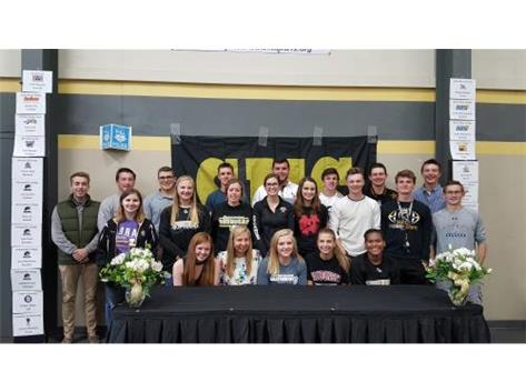 Keegan White, Taylor University, Indiana	Golf, Connor Weckerly,	University of Mississippi, 	Track, Joe O'Brien, Carroll University, WI, Soccer