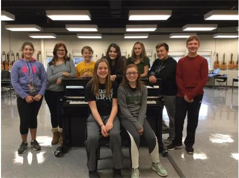 ACDA Honors Choir 2018 –  Congratulations to Sycamore Middle School students: Kaitlyn Bowman, Cassandra Chamoun, Gabriella Juday, Samuel