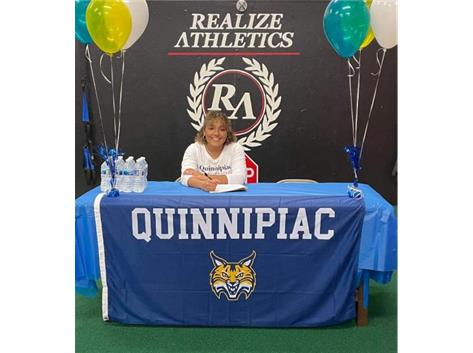 Mariah Norris-Johnson signed with Quinnipiac to play Rugby.