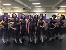TFN Dance Girls Take A Break From Practice To Pose For A Picture