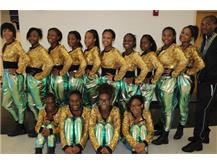 TFN Dance Team Before The Homecoming Pep Assembly