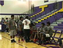 Police VS. Students Basketball Game- January 23, 2016
