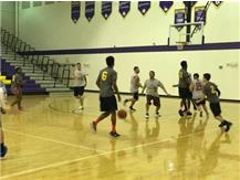 Police VS Student Basketball Game Begins! January 23, 2016