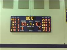 The Final Score of the TFN Students VS. Calumet City Police Basketball Game, Students-63 PD-61