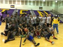 An Amazing Stepping Stone For The Community- TFN Students & Calumet City Police After A Great Basketball Game- Jan. 23, 2016
