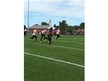 Senior, P. Fabre, Runs The Ball For A Touchdown!